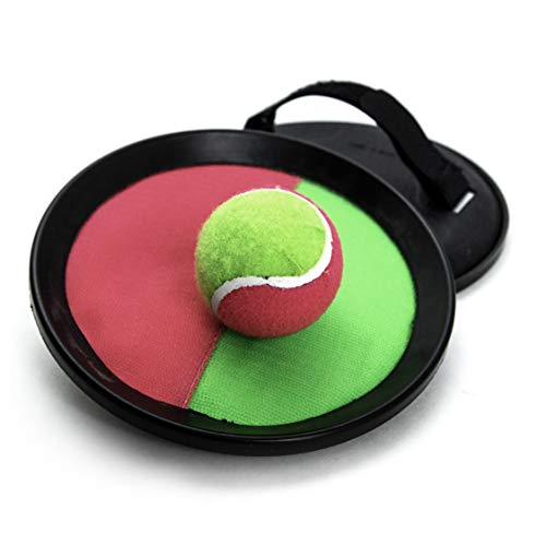 (Pro Impact Catching Game Set - 2 Player Toss and Catch Paddle Sports - Fun Indoor/Outdoor Interactive Game - for Kids Teens & Adults)
