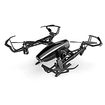 UDI RC Eagle Drone with Wide Angle 720P HD Camera Virtual Reality Mode Real time FPV Wifi Quadcopter with Headless Mode, Return to Home, Bonus extra battery by UDI RC