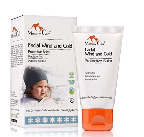Mommy Care Cold Weather Baby Child Organic Facial Protective Winter Balm Soothing Cold Sores Cream to Hydrate Moisturize…