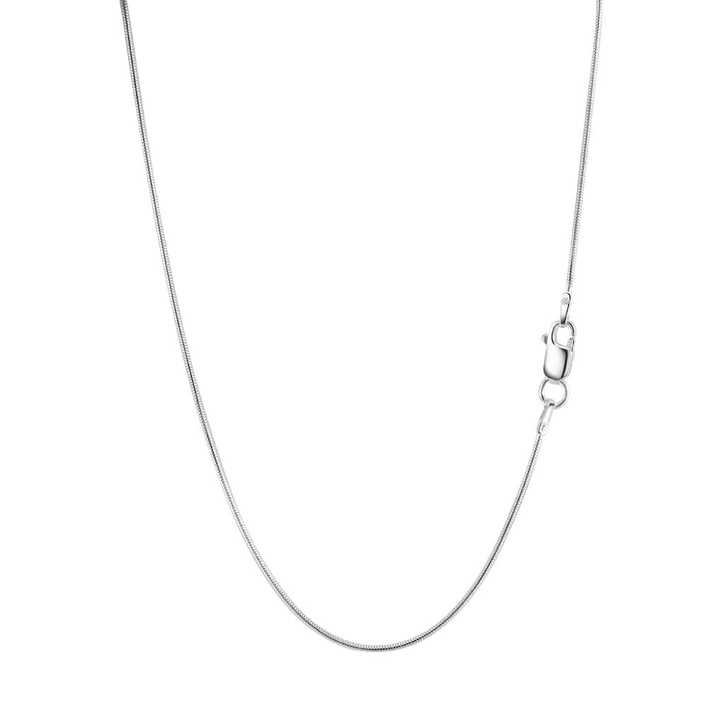 H /& I Jewelers Sterling Silver 925 Italy Round Snake Chain 1.00MM 16-24