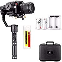 Zhiyun Crane Plus (Crane V2 Upgrade Ver) 3 Axis Handheld Gimbal Stabilizer 2.5KG (5.5lbs) Playload Timelapse MotionMemory Intelligent Object Tracking Canon Nikon Sony DSLR Cameras