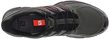 Salomon Men's X-mission 3 Athletic Shoe, Night Forest, 10 M Us 7