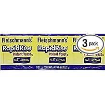 Fleischmann's RapidRise Instant Yeast Fast-Acting Gluten Free1.4 Oz. Pk Of 3.