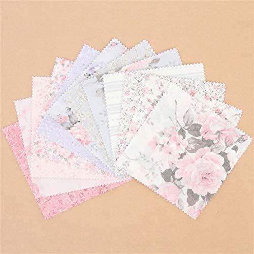 Lote de telas de flores precortadas 12,5cm Charm Pack: Amazon.es ...