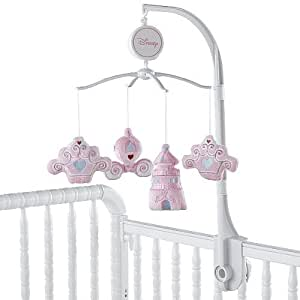 Disney princess little dreamer musical mobile for Princess crib mobile