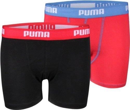 Puma Junior Jungen Boxershort Basic Boxer 4er Pack