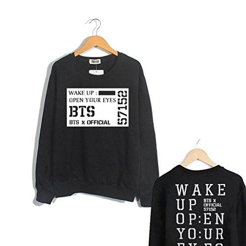 Fanstown BTS bangtan boy official same wake up sweater J-HOPE Jinmin V Rap monster