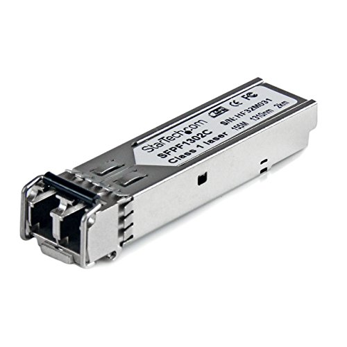 Single Fiber 100fx (StarTech.com Cisco GLC-FE-100FX Compatible SFP Module - 100BASE-FX Fiber Optical Transceiver - SFPF1302C)