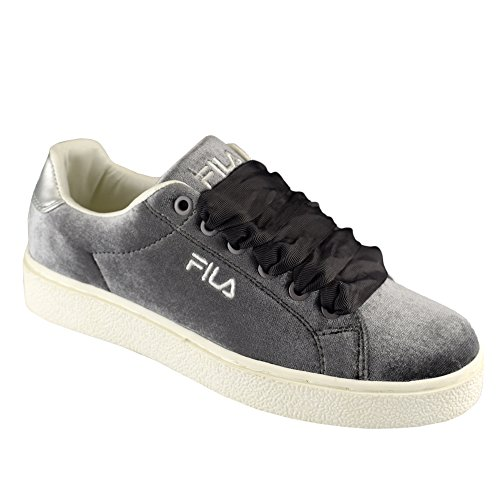 Fila Womens Upstage V Low Textile Sneakers Gray-Violet MuCuQ3