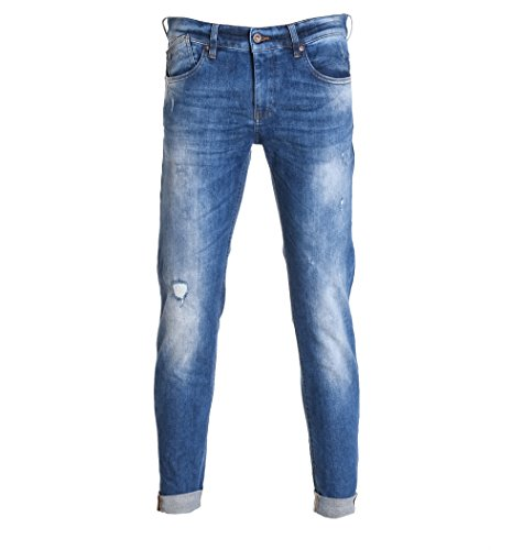 Uniform Men's 30Unm0048s2698 Light Blue Cotton Jeans by Uniform