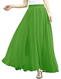 Amazon.com: Green - Skirts / Clothing: Clothing, Shoes & Jewelry