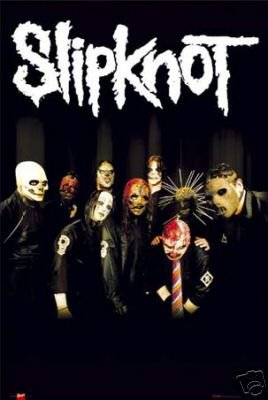 Slipknot Poster - Tribal Masks - Rare New Scary