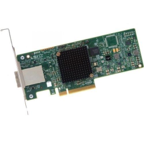 LSI Logic LSI00343 9300-8E SGL 8-Ports Ext 12GB/S SATA SAS PCIE3.0 HBA and DOC CD by LSI Logic