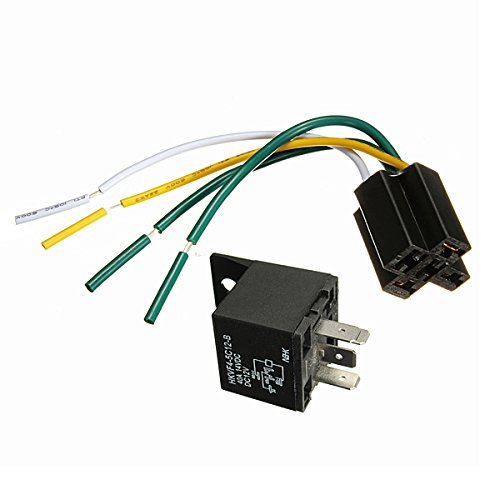 12V 12 Volt 30/40A Automotive Relay with Socket 30 amp / 40 amp Relay
