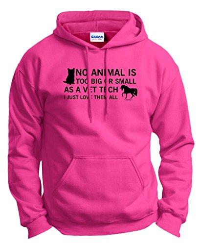 Tech Animal Small Hoodie Sweatshirt