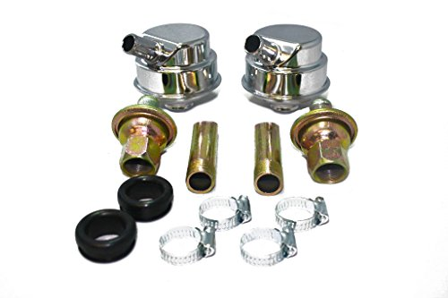 - Chrome Crankcase Evacuation Valve Cover Breather System SBC BBC SBF BBF Race Car