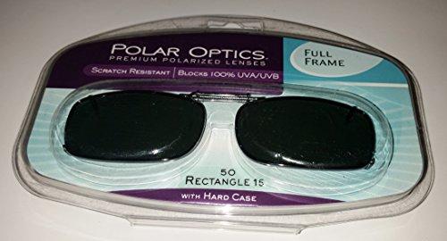 Polar Optics 50 Rec 15 Full Frame Gray Lenses with Hard ()