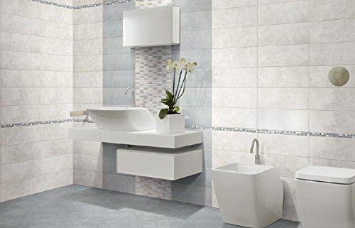 Piastrelle ceramica pavimento rivestimento bagno moderno regina