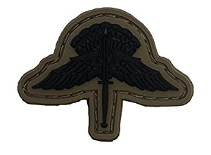 Subdued Us Army Freefall Halo Pvc Badge