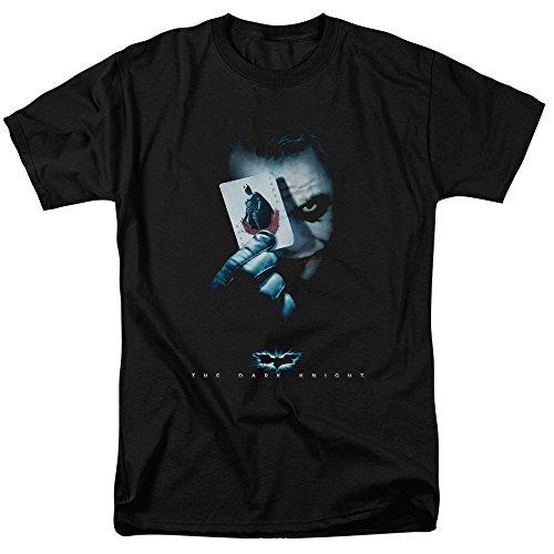Trevco Men's Batman Dark Knight Short Sleeve T-Shirt, Jokers Black XXX-Large ()