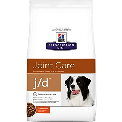 Hill's Prescription Diet j/d Joint Care Chicken Flavor Dry Dog Food 8.5 lb