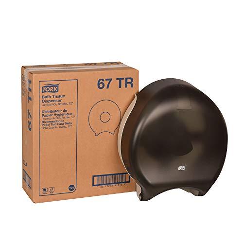 (Tork 67TR Jumbo Bath Tissue Roll Dispenser, 14.9