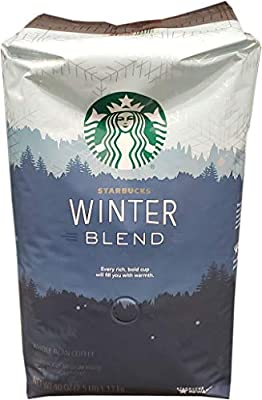 Starbucks Winter Blend Whole Bean Coffee, 40 Oz by Beeps and Bells Corporation