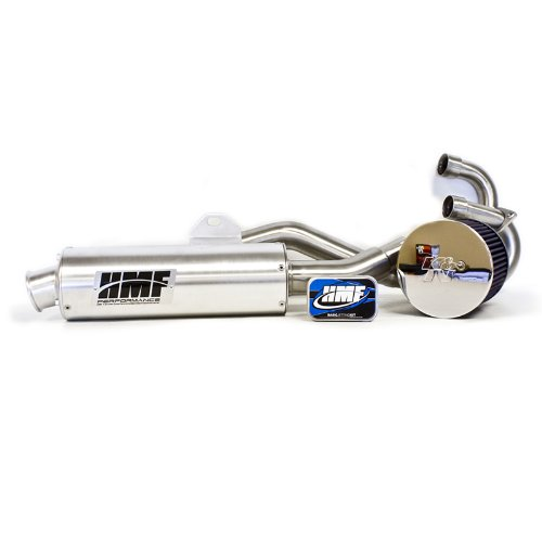 HMF Honda TRX 400EX 1999 - 2014 Full Exhaust Muffler & Jet Kit + - Honda Full 400ex System