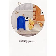 Bear & Mail Box - Recycled Paper Greetings Mary Melcher Father's Day Card