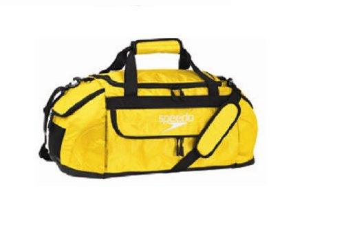 UPC 827782870672, Speedo Performance Pro Small Duffle Bag, Lemon Glow