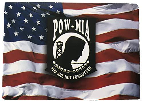 American Flag with POW/MIA