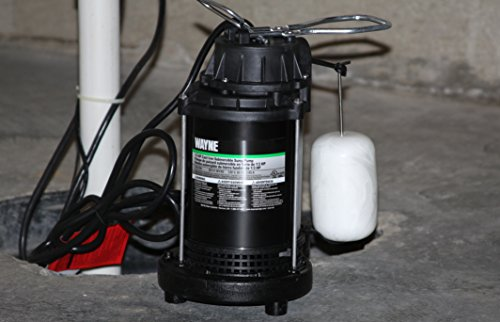 WAYNE CDU800 1/2 HP Submersible Cast Iron and Steel Sump Pump With Integrated Vertical Float Switch by Wayne (Image #1)