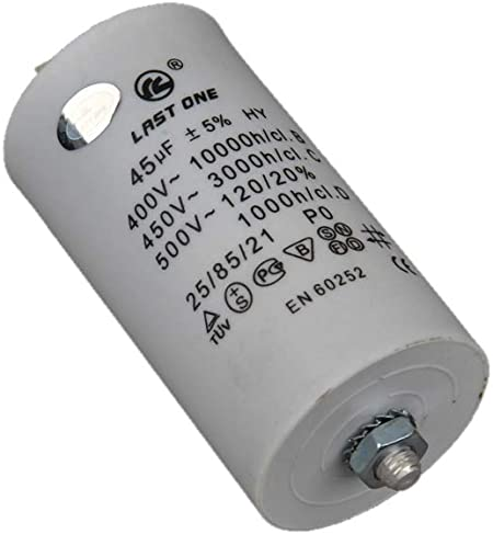 Condensateur de démarrage moteur 45μF 45uF