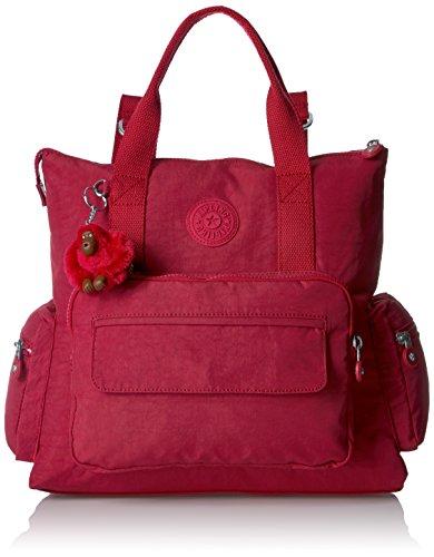 Kipling Alvy Solid Convertible Backpack (Backpack Kipling Red)