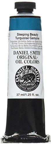 DANIEL SMITH TNRE-08 284300115 Original Oil Color 37ml Paint Tube, Natural Sleeping Beauty Turquoise