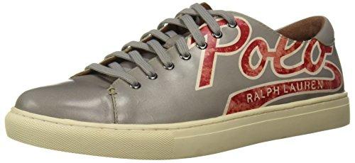 Polo Ralph Lauren Mænds Jermain Sneaker Sten zHYxSwzfCT