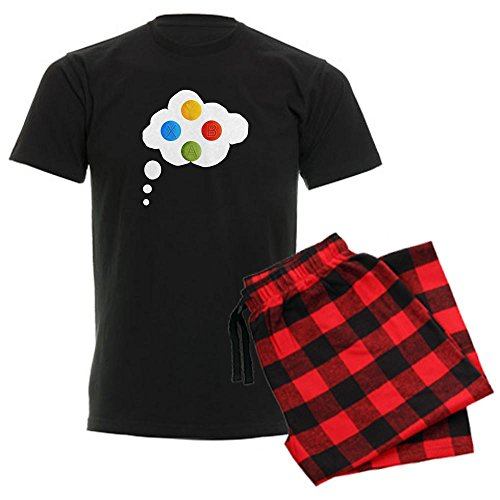 CafePress - X-box Mens Pajamas & Shirt - Unisex Novelty Cotton Pajama Set, Comfortable PJ Sleepwear