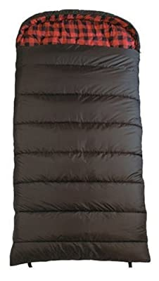 TS-CXXL-0F TETON Sports Celsius 90inx39in XXL -18 Degree C / 0 Degree F Flannel Lined Sleeping Bag