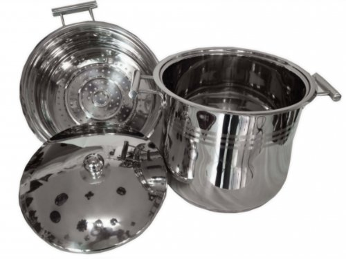 CousCous Topf / Dampfgarer 8 Liter