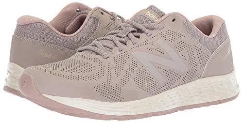 New Balance Women's Fresh Foam Arishi V1 Running Shoe, Flat White/au Lait 5 B US by New Balance (Image #5)