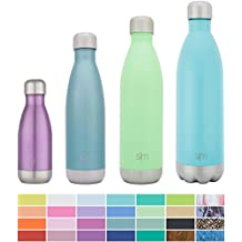 Simple Modern Wave Water Bottle - Vacuum Insulated Double-Walled 18/8 Stainless Steel Hydro Swell Flask