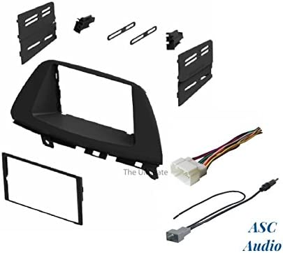 Wire Harness and Antenna Adapter for Installing an Aftermarket Double Din Radio for 2005 2006 2007 2008 2009 2010 Honda Odyssey Other ASC Audio Car Stereo Dash Install Kit