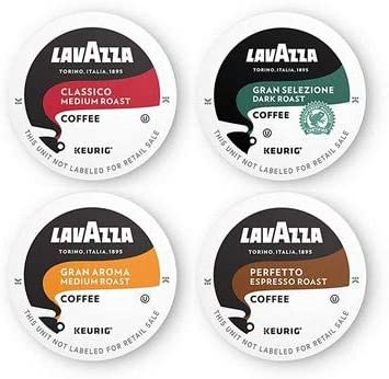Lavazza Coffee K-Cup Pods Variety Pack for Keurig Single-Serve Coffee Brewers