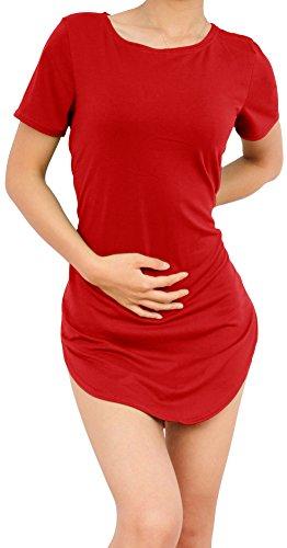 SlickBlue Womens Side Split Cropped T Shirt product image