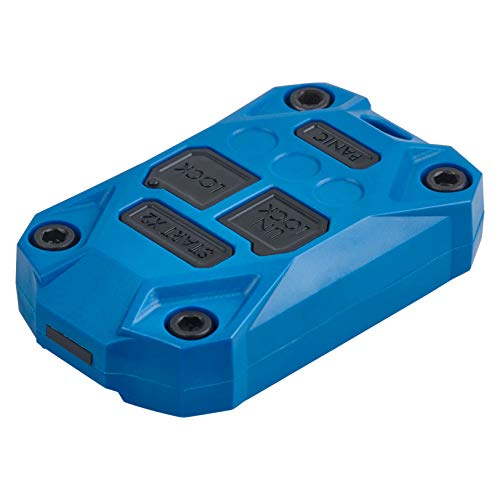 AJT DESIGN Injection Fob Case (Jeep Wrangler JK) Blue