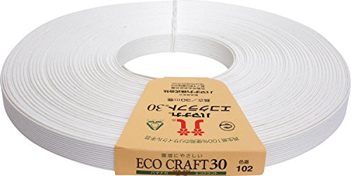 Hamanaka Eco Craft 30m winding 102 white (japan import)