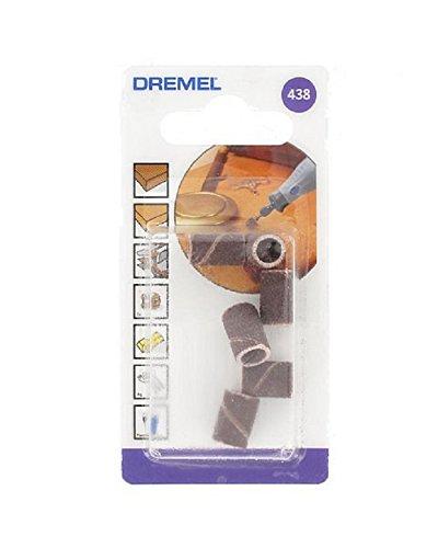 7 opinioni per Dremel 438 Cilindri Abrasivi, Grana 120, 6.4 mm, 6 Pezzi