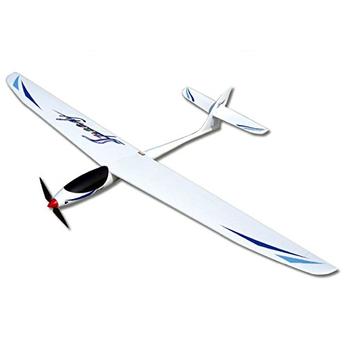 Electric Kit Glider (FlyFly Hobby Speedy Electric Glider 1600mm KIT without electronic parts RC Fiberglass Sailplane)