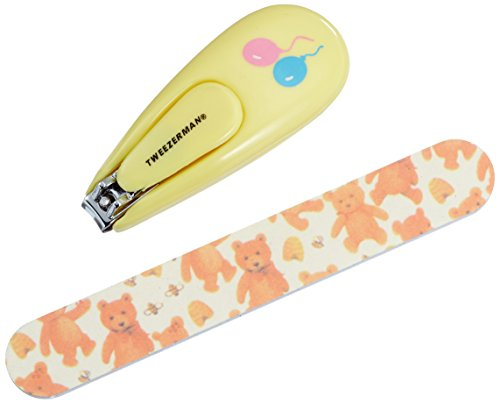 Price comparison product image Tweezerman Baby Nail Clipper With Bear File