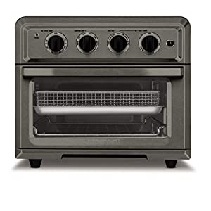 Cuisinart TOA-60BKS Convection Toaster Oven Airfryer, Black SS